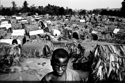 Refugee camp in DRC